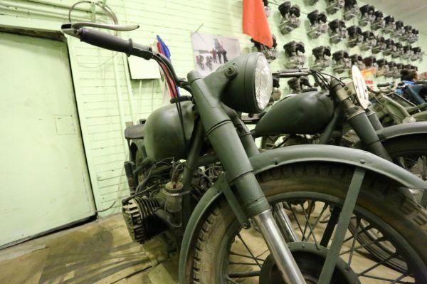Клуб старинных мотоциклов Санкт-Петербурга.