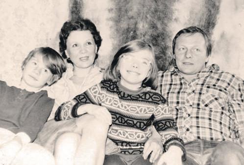 14. Влад Галкин с сестрой и родителями. история, факты