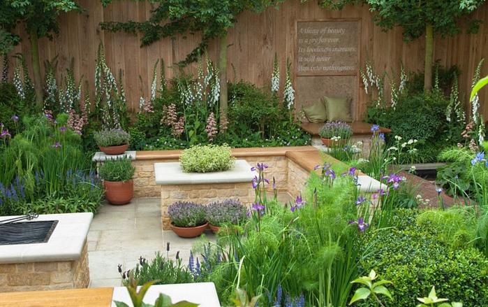 как красиво посадить пряную траву на саду фото интерьера: стили, идеи