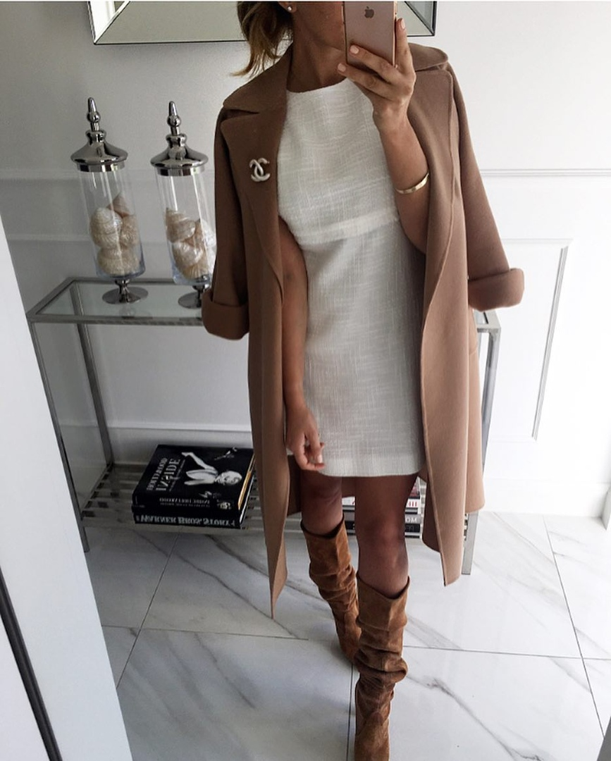 Пальто с рукавом ¾: самое время