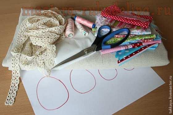 Мастер-класс по шитью: Пасхальная скатерть