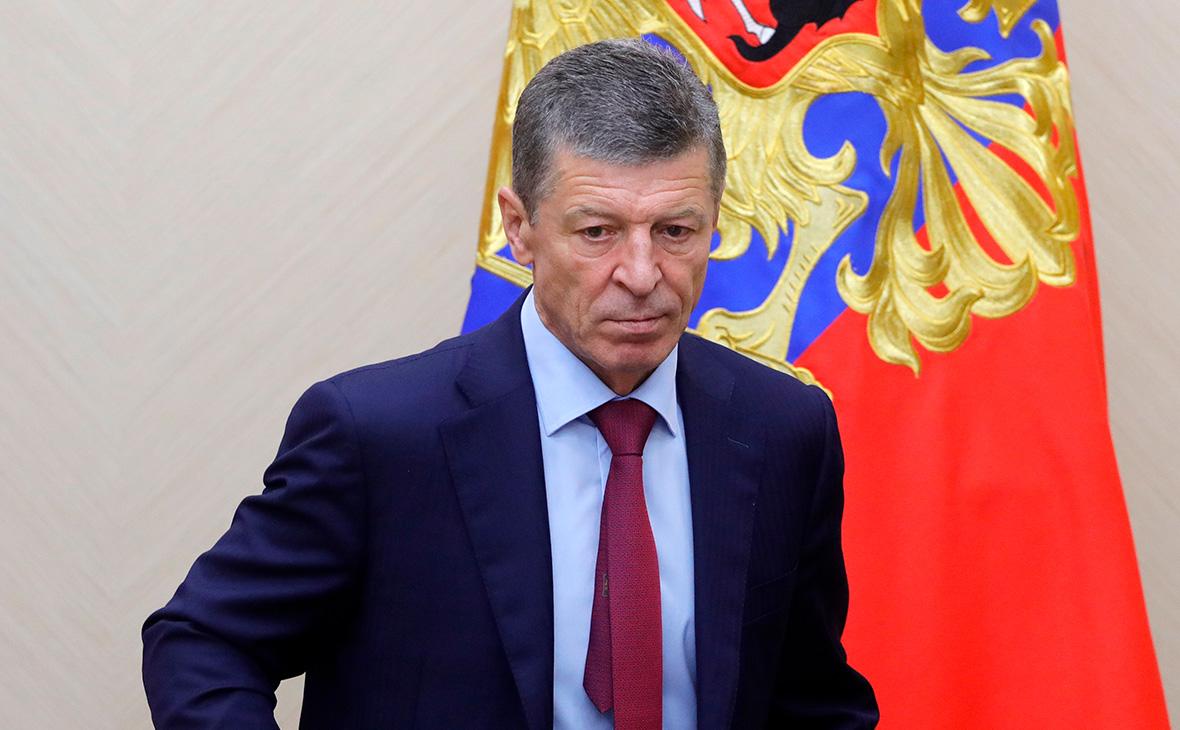 Путин поправил Козака после слов о миллиардных потерях нефтяников