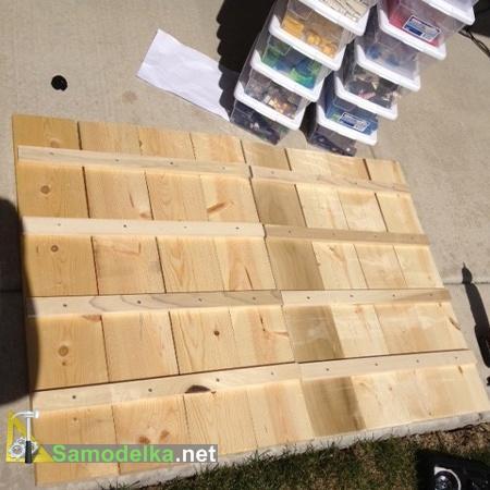 стол для мастерской своими руками - стенки