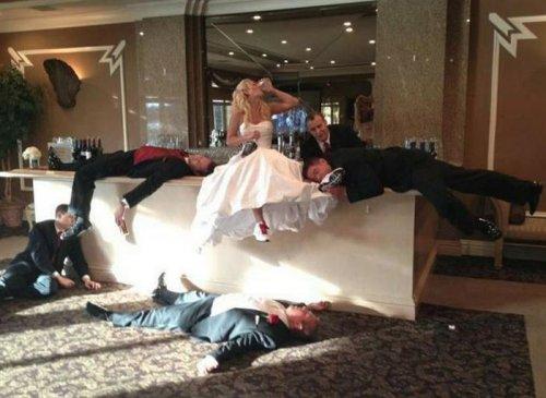 Смешные и необычные свадебны…
