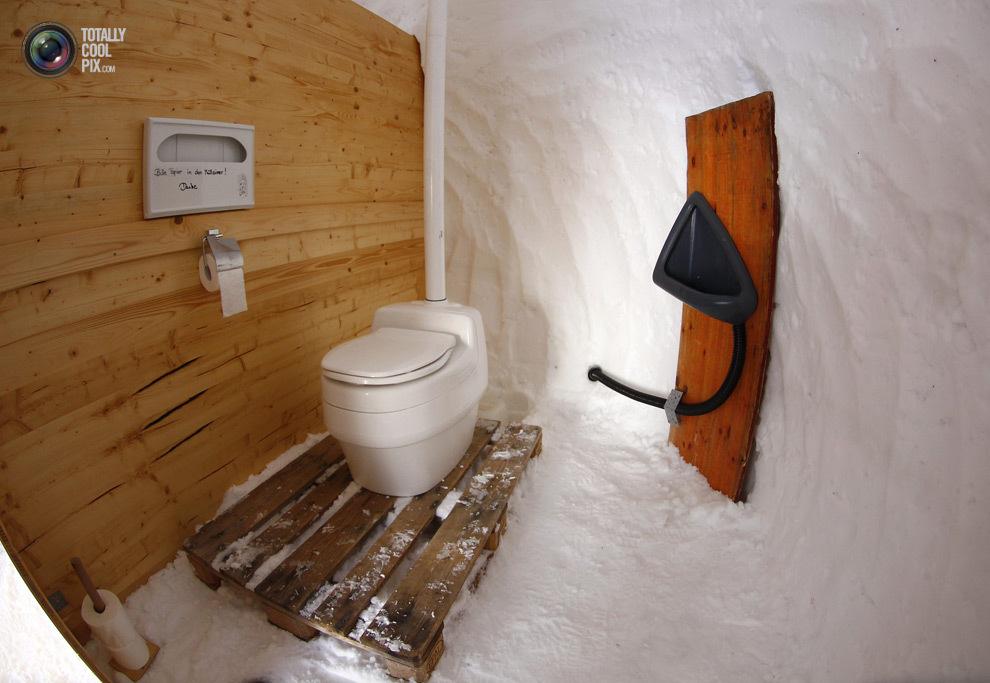 Как сделать теплый туалет в частном доме своими руками 135