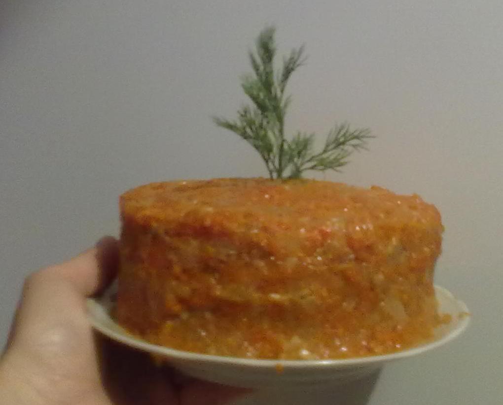 Печеночный торт (ОЧЕНЬ ВКУСНЫЙ и КРАСИВЫЙ!) (рецепт недели)
