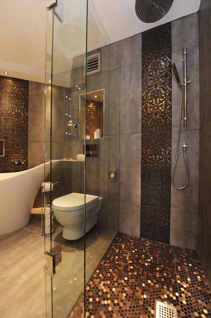Ванная комната дизайн с душевой