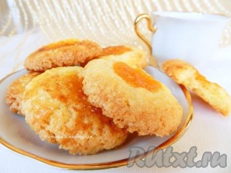 Аппетитное, вкусное печенье с джемом, приготовленное по этому рецепту, станет прекрасным дополнением к чашечке чая или кофе.