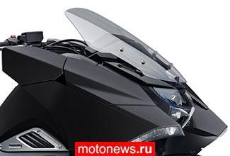 Обзор нового футуристического мотоцикла Honda NM4 2014