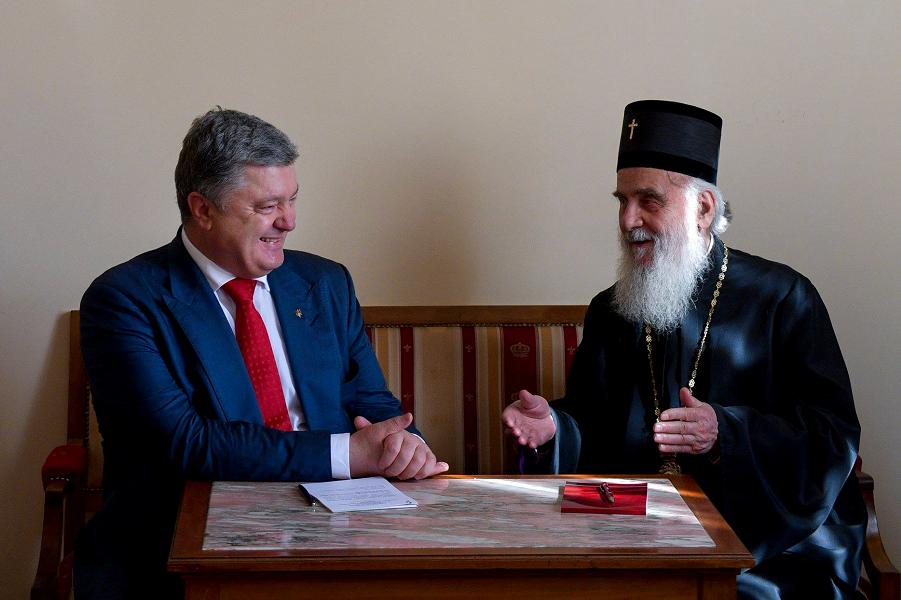 Борьба Украины за историю Руси продолжается. Порошенко объясняет Сербии, где настоящая Русь