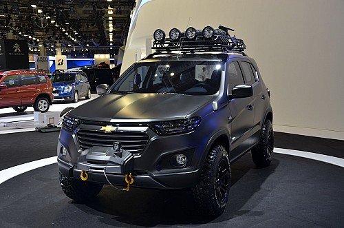 Концепт Chevrolet Niva второго поколения