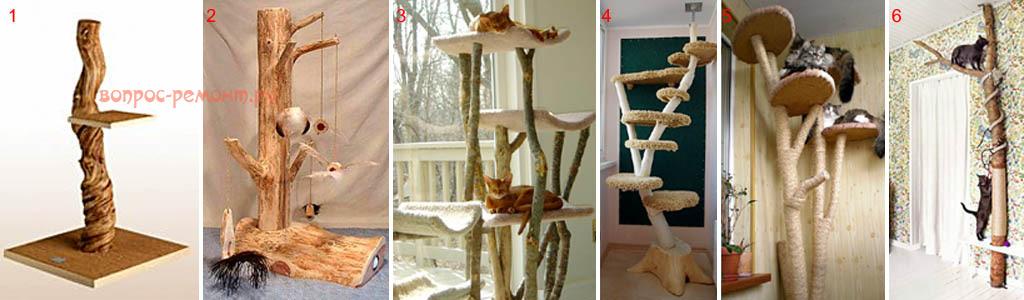 Деревья для кошек своими руками 770