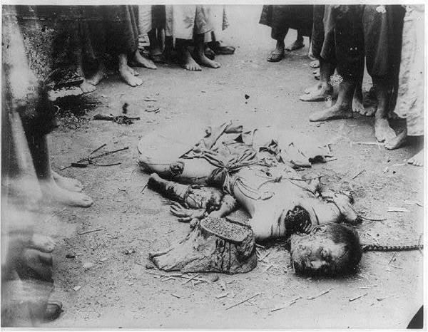 Линчи – самая страшная смертная казнь в Китае.