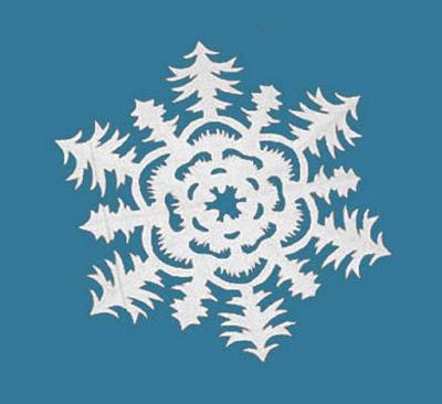 14 восхитительных снежинок и других поделок из бумаги к Новому год...