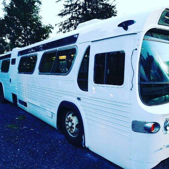 На трансформацию ушло 3 года автобус, дизайн, дом, идея, проект, сделай сам, фото