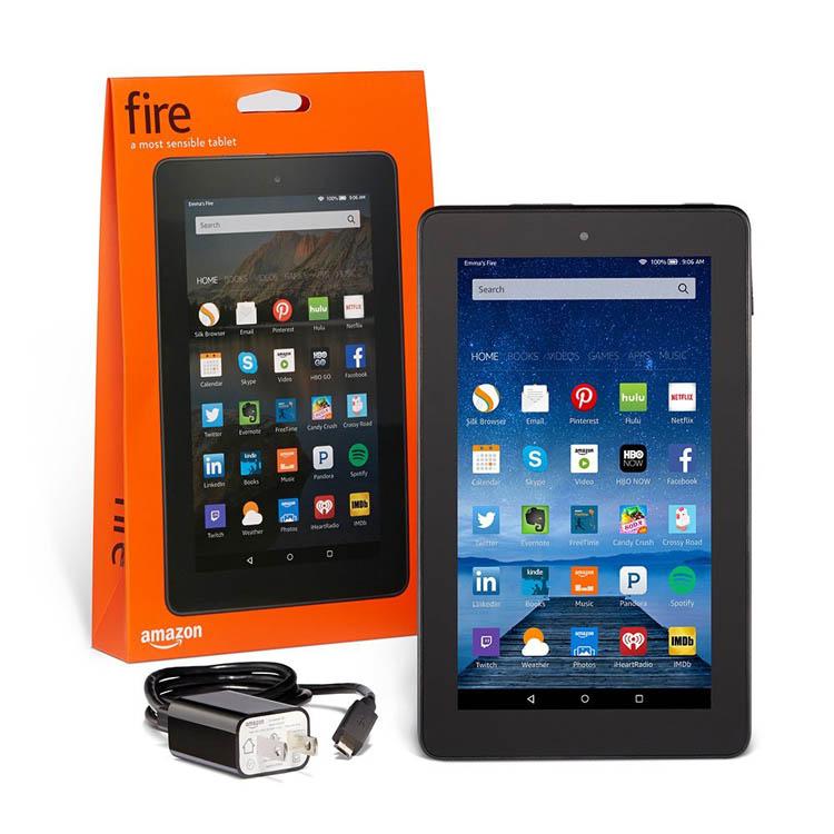 Анонсирован 50-долларовый планшет Amazon Fire
