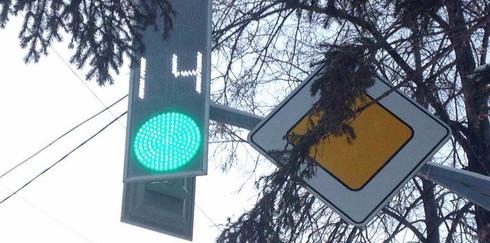 Томская область перешла на светодиодные светофоры
