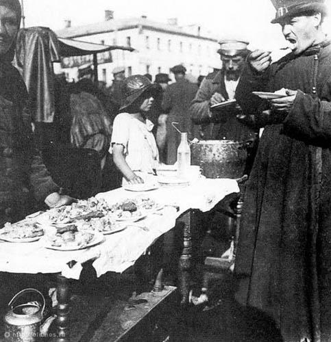 Каким был отечественный фастфуд в 19 веке еда, история, россия