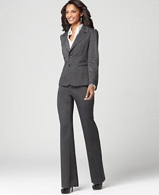 женский строгий деловой костюм