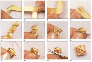 уроки вышивки лентами