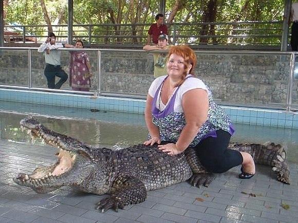 Вы когда-нибудь видели, как крокодилы зовут на помощь?