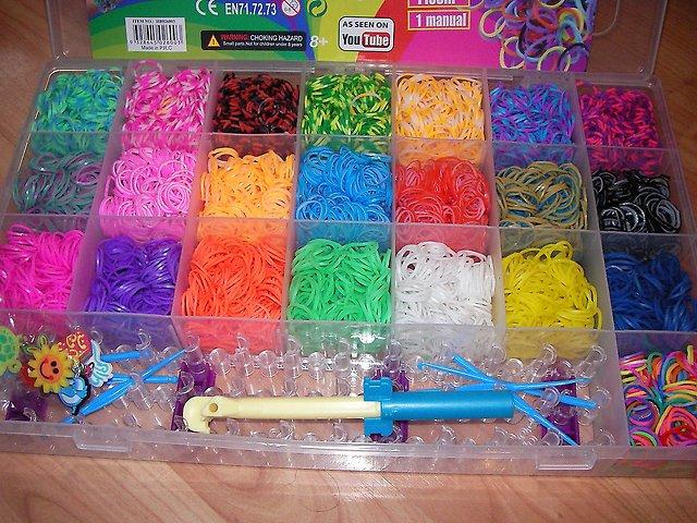 Сколько стоит набор резинок для плетения браслетов