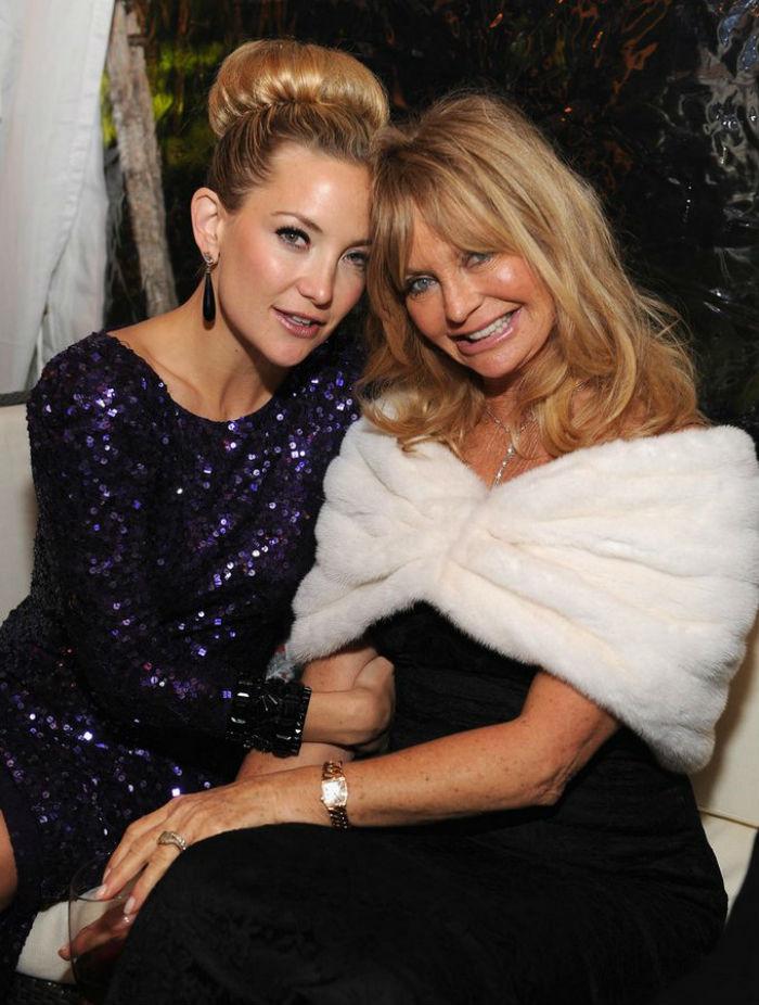 7. Кейт Хадсон и Голди Хоун звезды, мама, фото