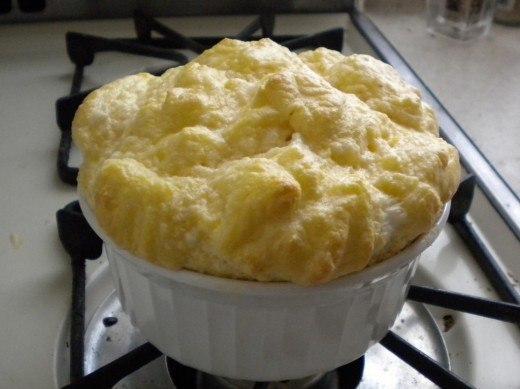 Суфле из яичных белков рецепт с фото