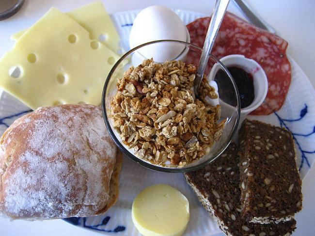 датский завтрак