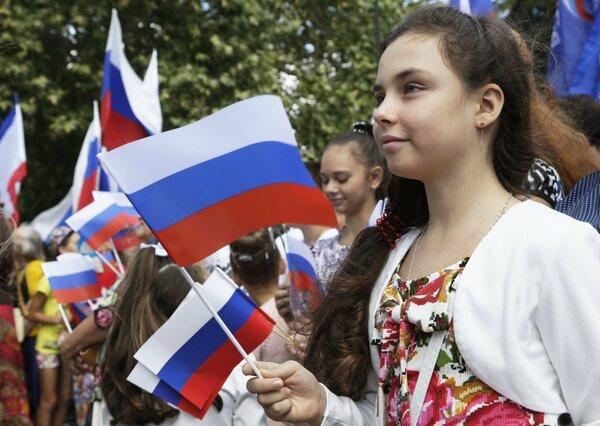 Британские журналисты рассказали правду о жизни в Крыму