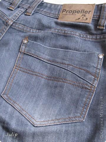 Как я штопала джинсы