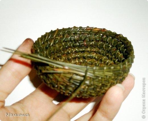 Плетение из иголок сосны