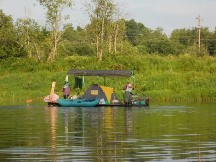 как ловят на реке угра