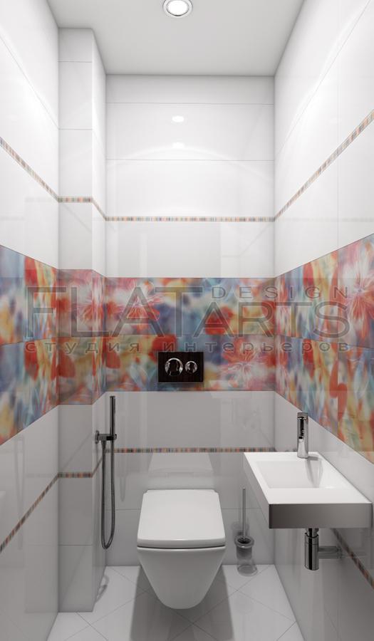 Дизайн проект туалета 2 квм