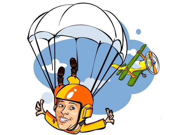 Поздравления с днём рождения парашютиста