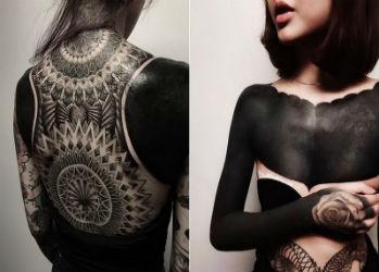 Люди вчерном: новый тату-тренд вСингапуре