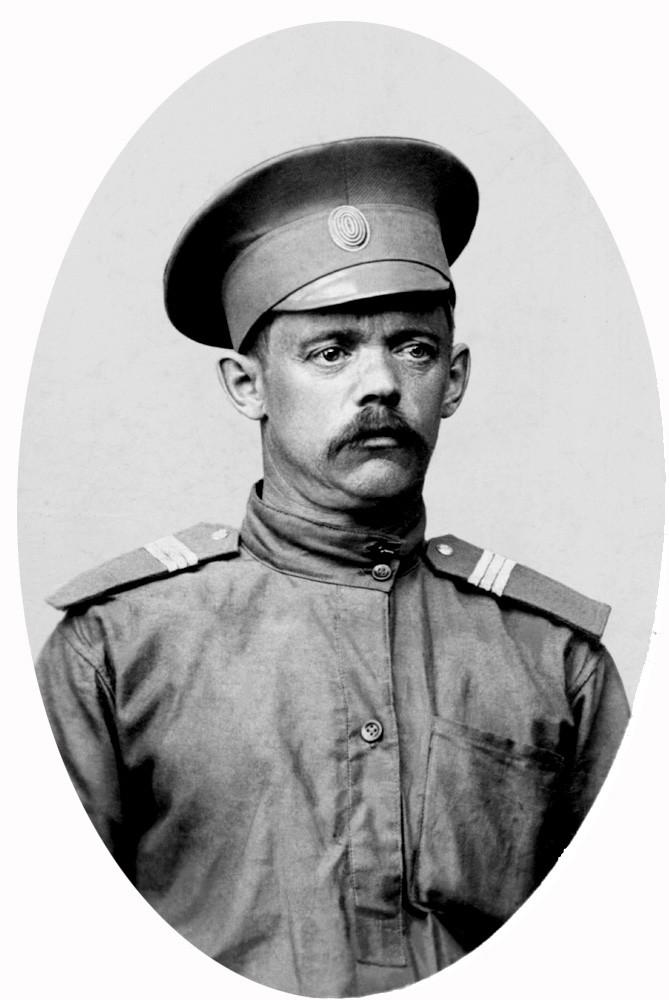 Ст. унтер-офицер Сорокин Ф.Ф. Унтер-офицеры, история, российская империя