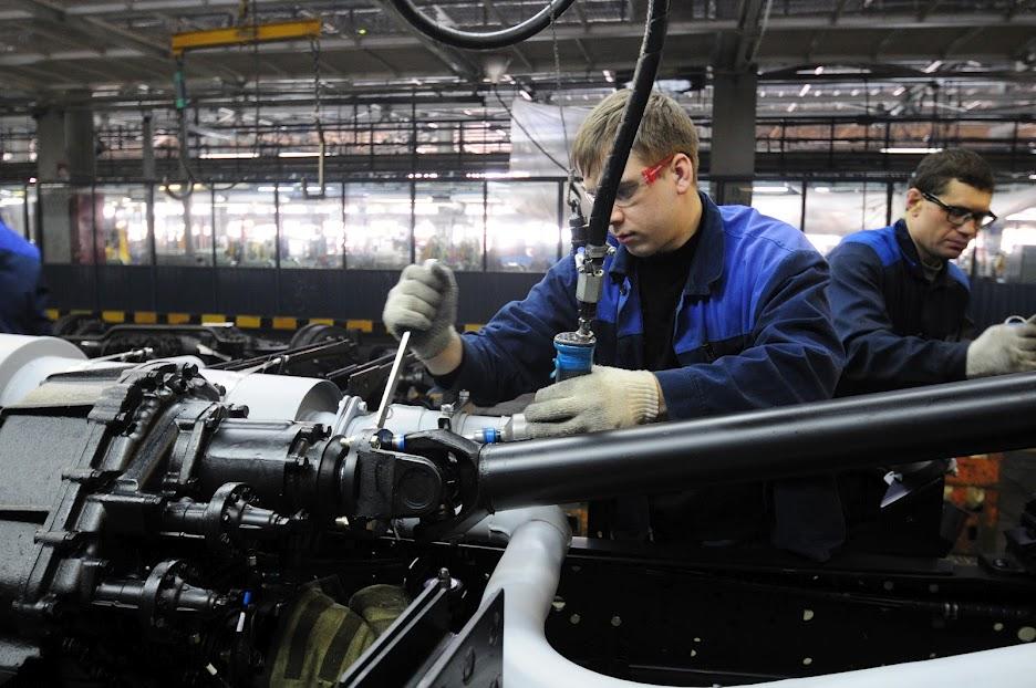 DSC4499 КамАЗ выпустил 2 000 000 й грузовик