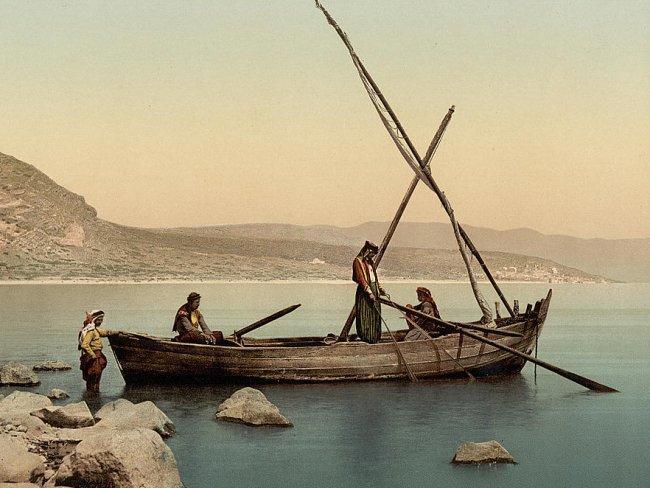 рыбалка в средние века