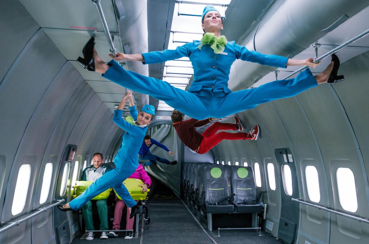 S7&OK GO: 2 часа 15 часа в невесомости для съемки видеоклипа  провели музыканты