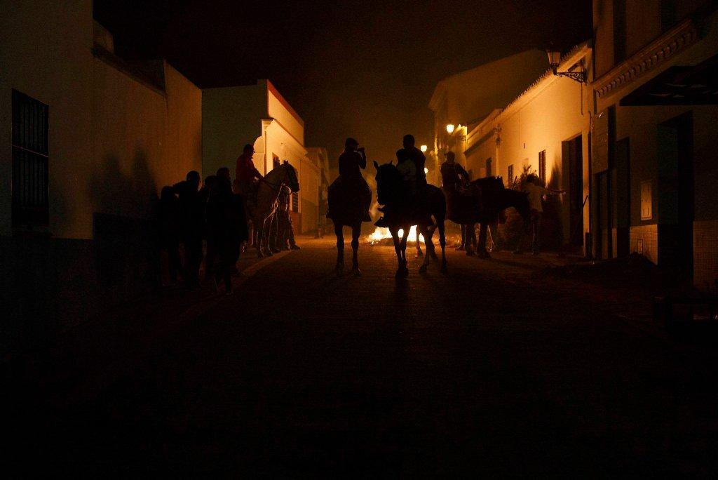 Luminarias - испанский фестиваль огня и животных-8