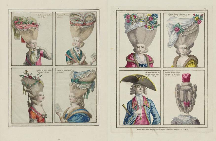 Женский прически россия 18 век