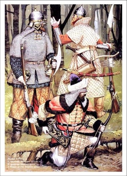 Вооруженные силы русского государства при Иване IV Грозном