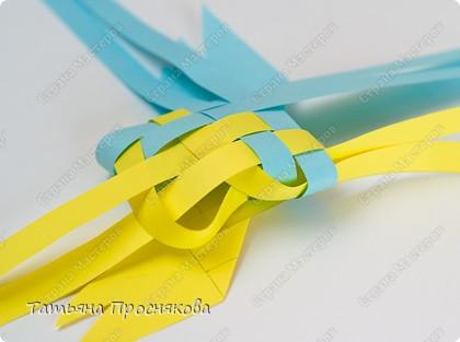 Мастер-класс Поделка изделие Плетение Плетёные птички Бумага фото 16