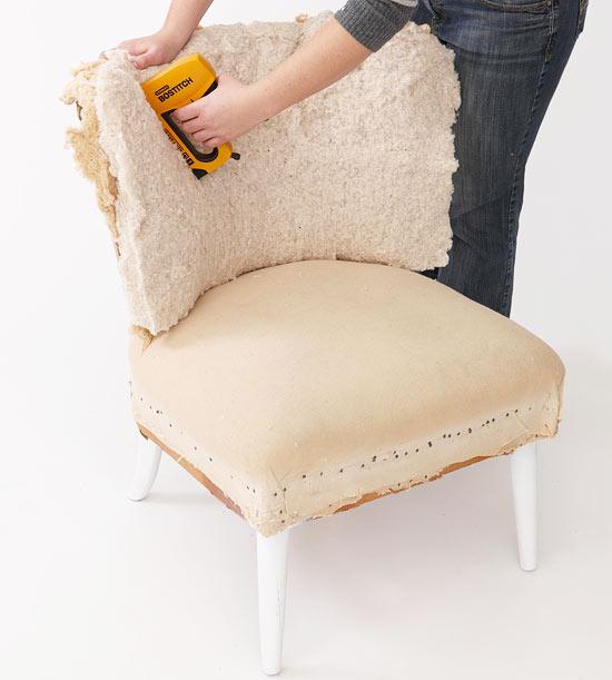 123 Как перетянуть стулья своими руками мастер класс
