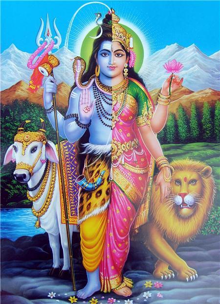 Индианка с четырьмя руками