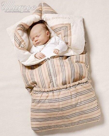 Младенческое одеяло - трансформер