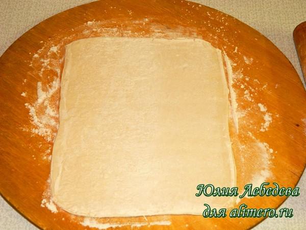 Несладкий пирог с творогом рецепт с