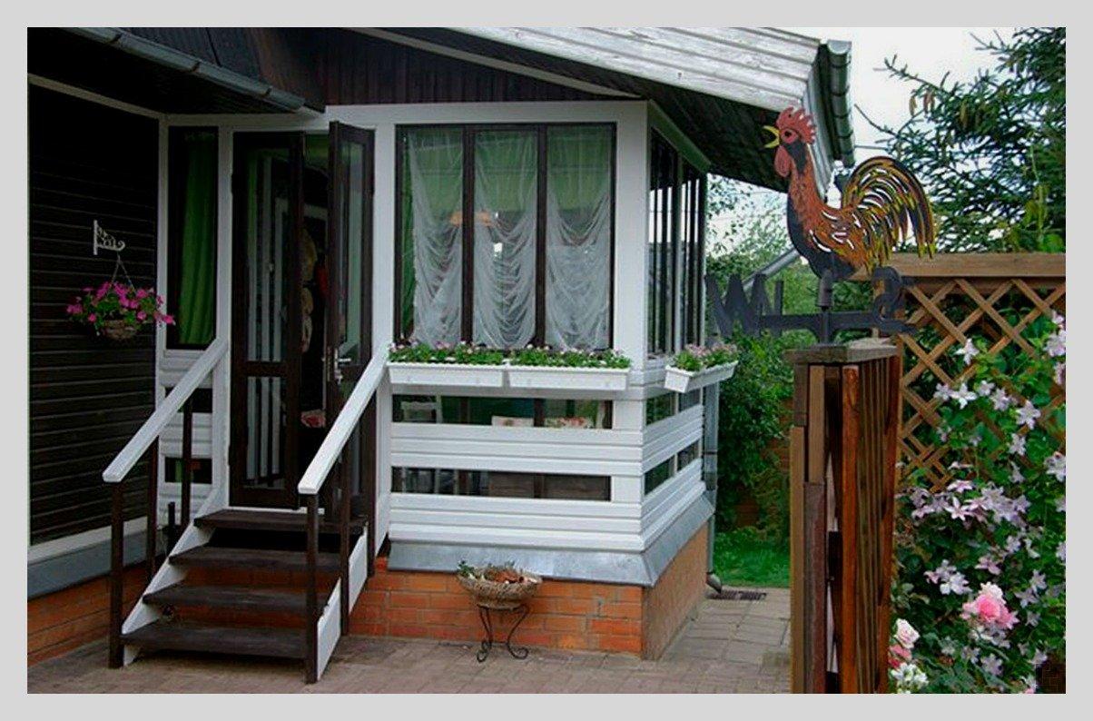 Дизайн веранды частного дома фото