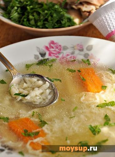 """Затируха"" - суп из детства"